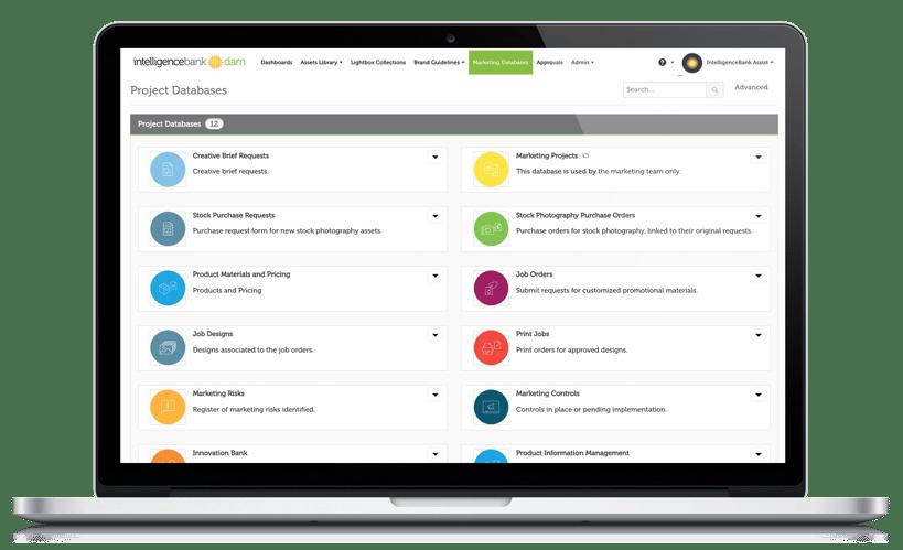 IntelligenceBank Marketing Operations Platform